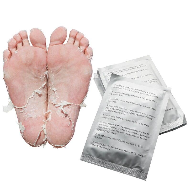 Schönheit & Gesundheit 3 Paar = 6 Stück Baby Füße Peeling Fuß Maske Magie Haut-peeling Abgestorbene Haut Füße Maske Socken Sosu Socken Für Pediküre Socken Creme