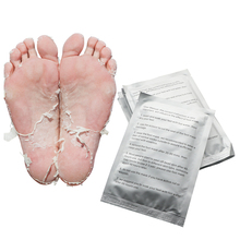 3pair=6 piece Baby Feet Exfoliating Foot Mask Magic Skin Peeling Dead Skin Feet Mask Socks Sosu Socks for Pedicure Socks Cream