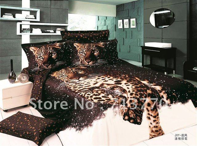 CRB003 Cheapest Wholesale Hotsale 100% Cotton Animal Print Bed ...