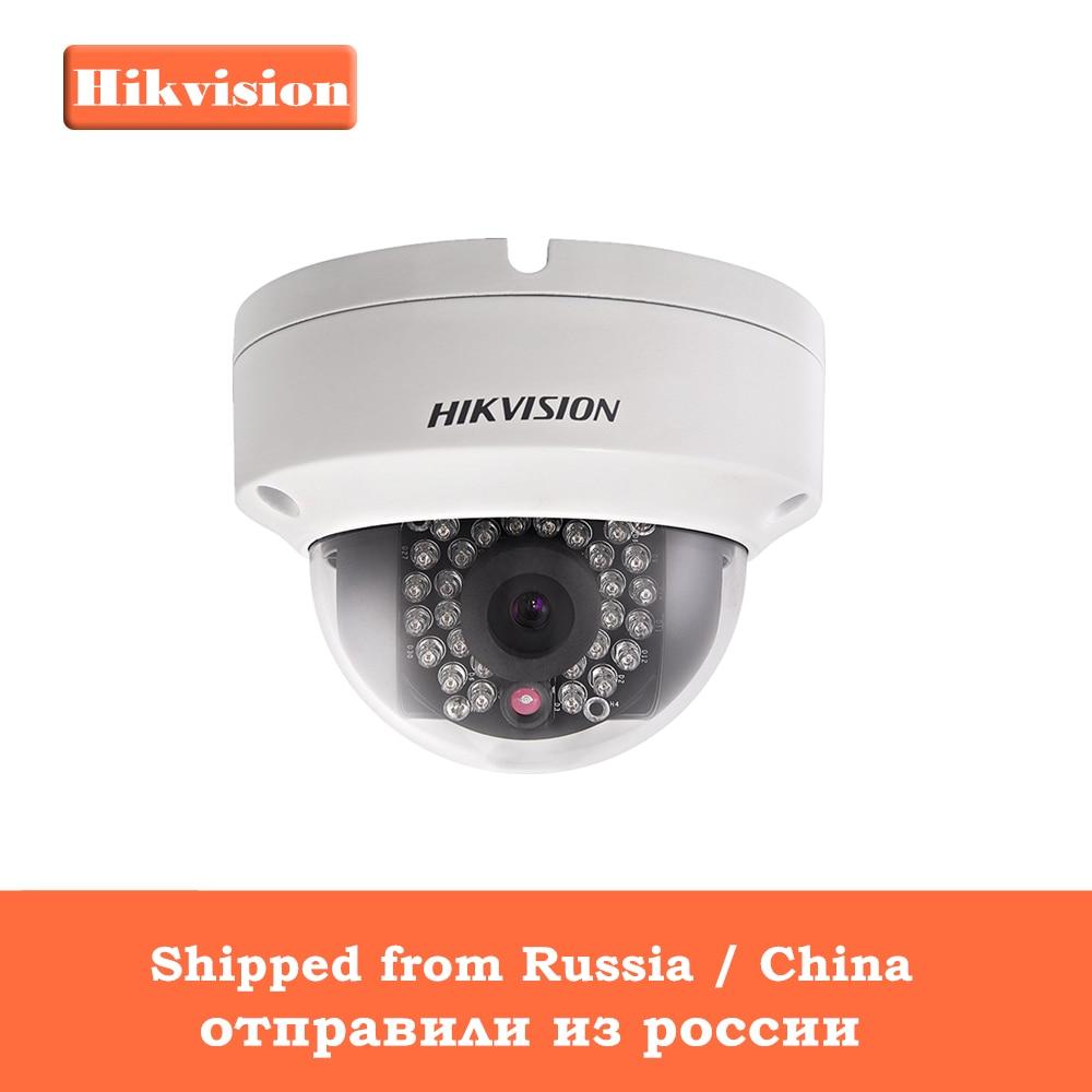 Hikvision HD Caméra de Sécurité 1080 P Intérieur/Extérieur 4.0MP Dôme IP Support de Caméra Onvif POE DS-2CD2142FWD-I Intégré Dans la Carte SD Slot