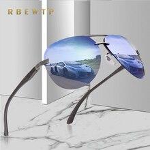 RBEWTP New 2018 Alloy Frame Classic Driver Men Sunglasses Polarized Coating Mirror Frame Eyewear aviation Sun Glasses For Women