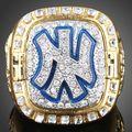 5PCS/lot Gold Plated jewelry Replica Sports Rings Retro 1999 Yankees Baseball Team Mariano Rivera Men Ring