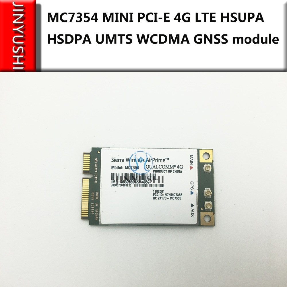 Sierra Wireless MC7354 PCI-E 4G LTE GNSS Module+Mini Pci-express To USB Adpater USB-Mini PCIE  Support GPS 100% NEW&Original