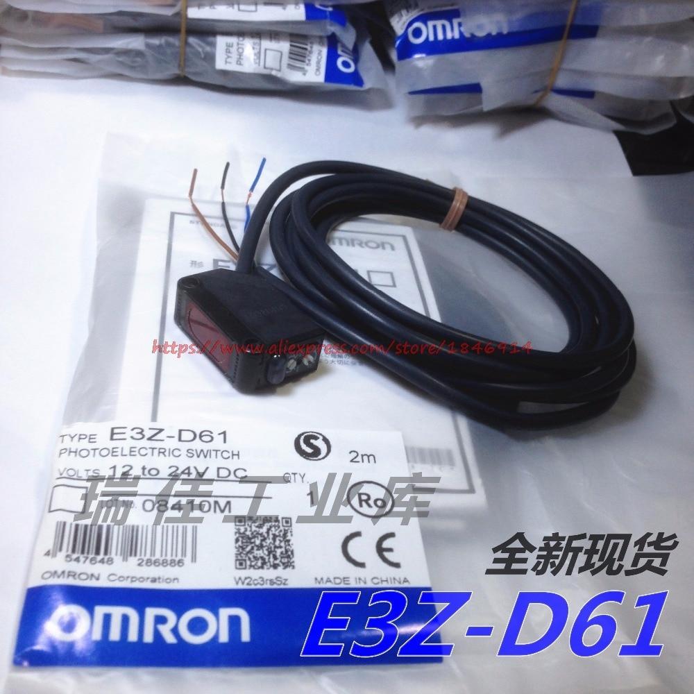 E3Z-D61 OMRON Photoelectric Switch Sensor DC12-24v NPN New Original E3Z-R61 E3Z-D62 E3Z-D81 E3Z-R81 E3Z-D82