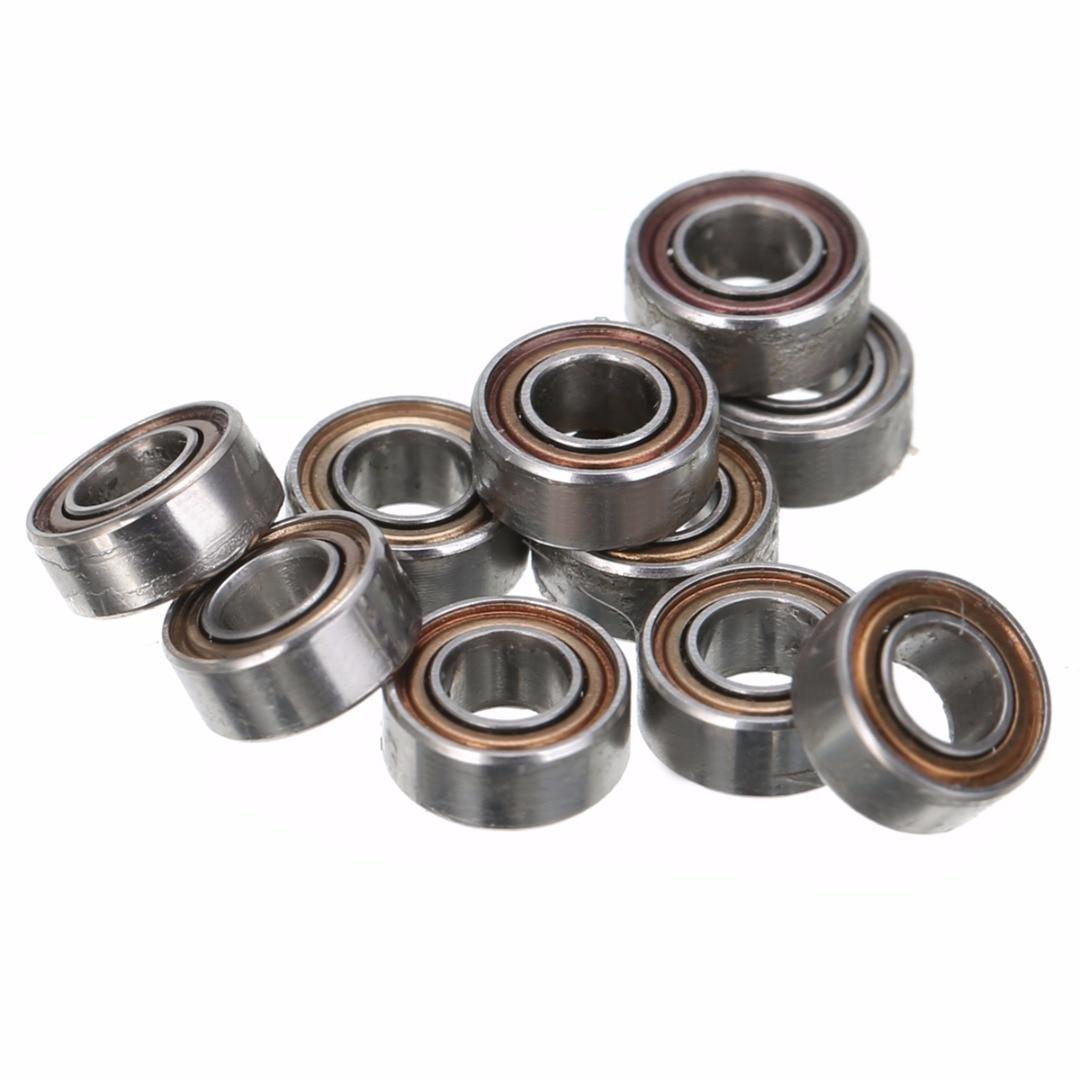 10Pcs Silver Deep Groove Miniature MR63ZZ Ball Bearing Seat Mayitr High Precision Mini Steel Rolling Roller Bearings 3*6*2.5mm gcr15 6326 zz or 6326 2rs 130x280x58mm high precision deep groove ball bearings abec 1 p0