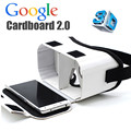 "New DIY Magnet Google Cardboard 2 Top Valencia Virtual Reality VR 3D Glasses Ultra Clear Viewing for 4.7-5.5"" Screen+ Head Belt"