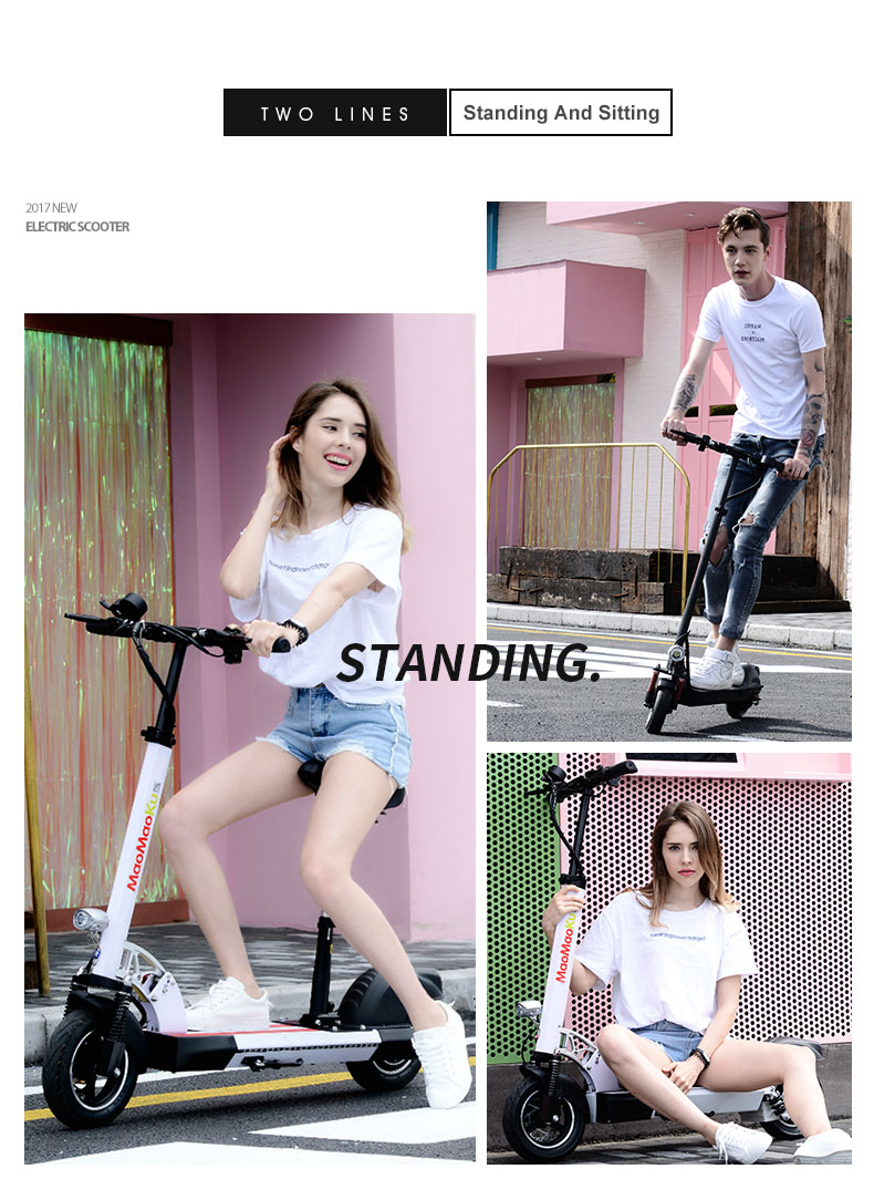 HTB1pT1HgfNNTKJjSspkq6yeWFXaf - 10inch electric scooter 48V lithium battery electric bicycle 500w high speed 100km range sctooer  max speed 45-50km/h