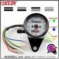 Motorcycle Backlit Dual RETRO VINTAGE Speedometer Odometer Gauge For HONDA Monkey Dax Mini trail Z50 J R VTX 1300 1800 750