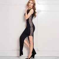 J80176 Лучшие продажи горячей продажи рукавов женщины платье назад драпированные кружева плюс размер платья новый стиль сторона открыта элег...