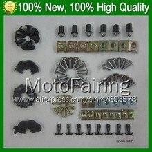 Fairing bolts full screw kit For KAWASAKI NINJA ZZR400 93-07 ZZR 400 ZZR-400 99 00 01 02 03 04 05 06 07 A1181 Nuts bolt screws