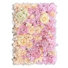 60cm X 40cm Umělá květinová zeď Umělá rostlina Nástěnná zahrada Trávníkové dekorace Pozadí Plazivé kapradiny Plastová tráva DIY