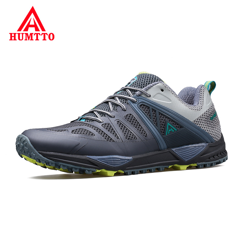 Hot Sale Summer Breathable Mesh Lace-up Outdoor Shoes Men Brand Casual Shoes Man Light Non-slip Soft Mens Walking Sneakers