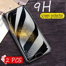 2Pcs Glass for huawei honor 10 lite Glass on the honor 10 Protective Tempered Glass for honor 10 lite Screen Protector(China)