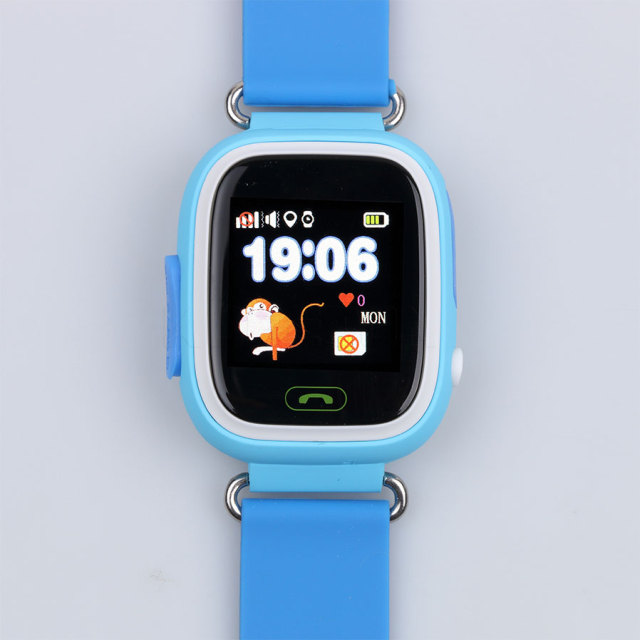 1pcs Colorful touch screen Q90 Smart Watch SOS Call Location Finder Device Tracker Kids Child Gift Q50 Q60 Anti Lost Monitor