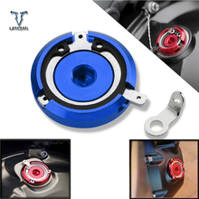 M20*2.5 Aluminum Motorcycle Engine Oil Filter Filler Cap for HONDA CBR600RR 2013 2016 Ninja 250 SL ER 6f (Ninja 650) 2012 2016