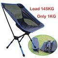 Ultralight camping cadeiras de pesca, churrasco ao ar livre portátil dobrável cadeira Dobrável cadeira de praia fezes