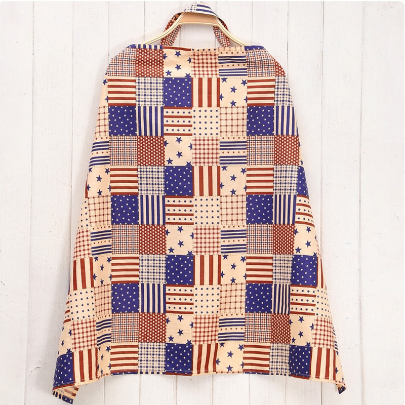 Cotton Nursing Cover Mother Breast Feeding Nursing Apron Cloth Baby stroller Canopy Breathable Baby feeding Covers Flower Print