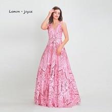 Lemon·joyce Lemon Evening Dresses A-line Floor Length