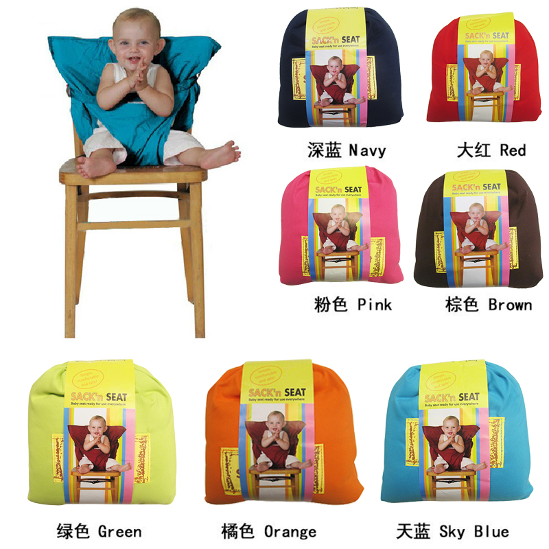Baby Chair Carrier Portable Infant Carrier Sling Dining Lunch Kids Feeding Chair for Child Infant Safety Belt High Chair Harness