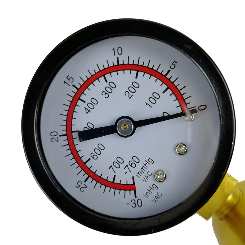 VicTsing 2 in 1 Car Handheld Vacuum Pressure Pump Tester Set Brake Fluid Bleeder Bleeding Kit DIY Brake Pressure Vacuum Gauge (5)
