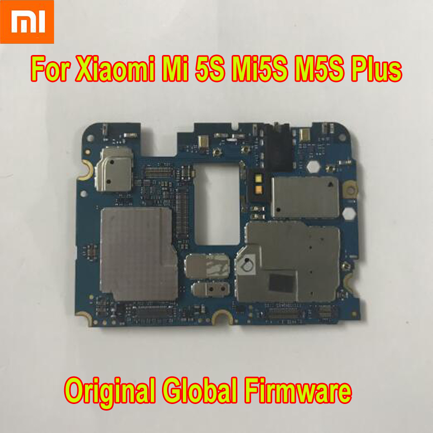 Original Xiaomi Mi 5S Plus Mi5S Plus Global Firmware Unlock Mainboard Motherboard Logic Circuits Card Fee Board Flex Cable Phone Accessory Bundles & Sets     - title=
