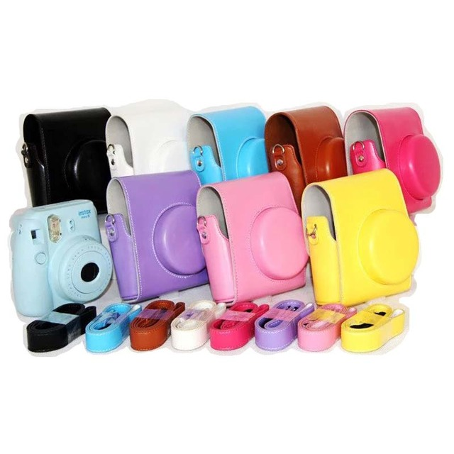 0866d592dc33 9 Colors Mini 8 Camera Leather Case Cover For Fuji Fujifilm Instax Mini 8  Digital Camera