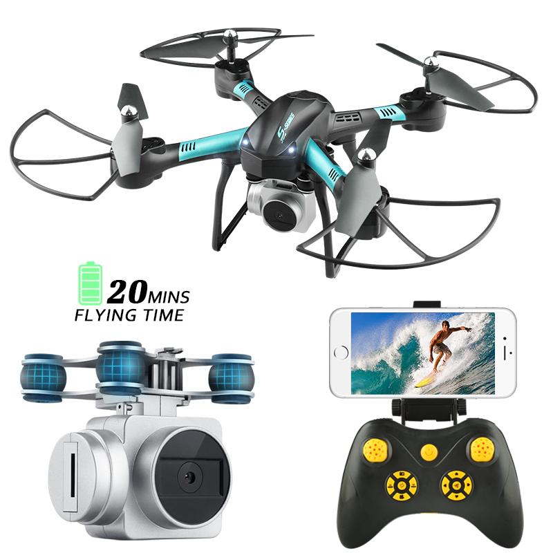 RC Drone with HD Camera 720P Live Image Transmission Quadcopter with Camera HD FPV Camera Drone