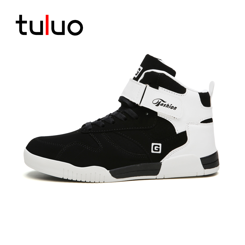 Shoes Sneakers Skateboarding-Shoes Sport-Basket Outdoor-Trainers High-Top Big-Size Men