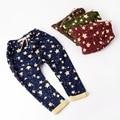 Hot Sale 100~140 children pants for boys trousers girls harem pants stars fashion