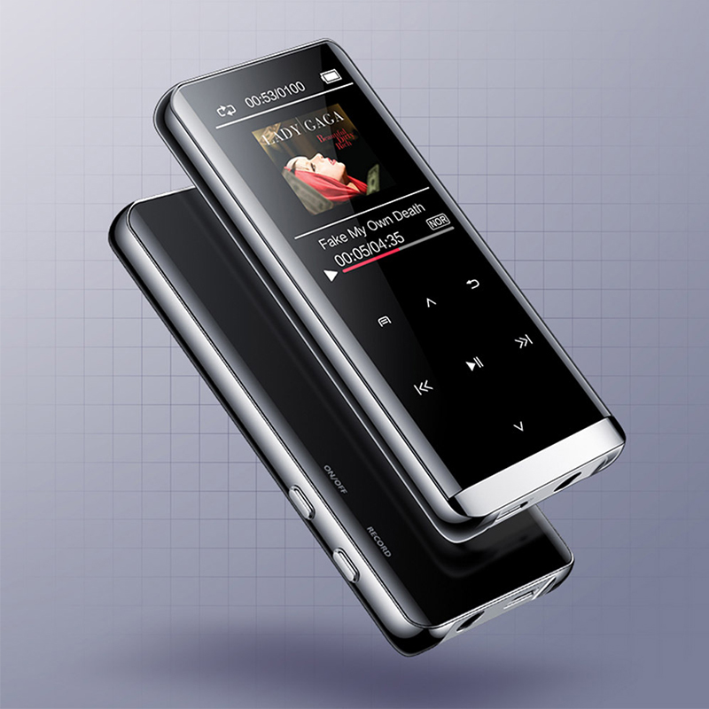 mp4 player bluetooth  walkman video mp3 touchscreen Support for lossless sound quality HIFI 5D