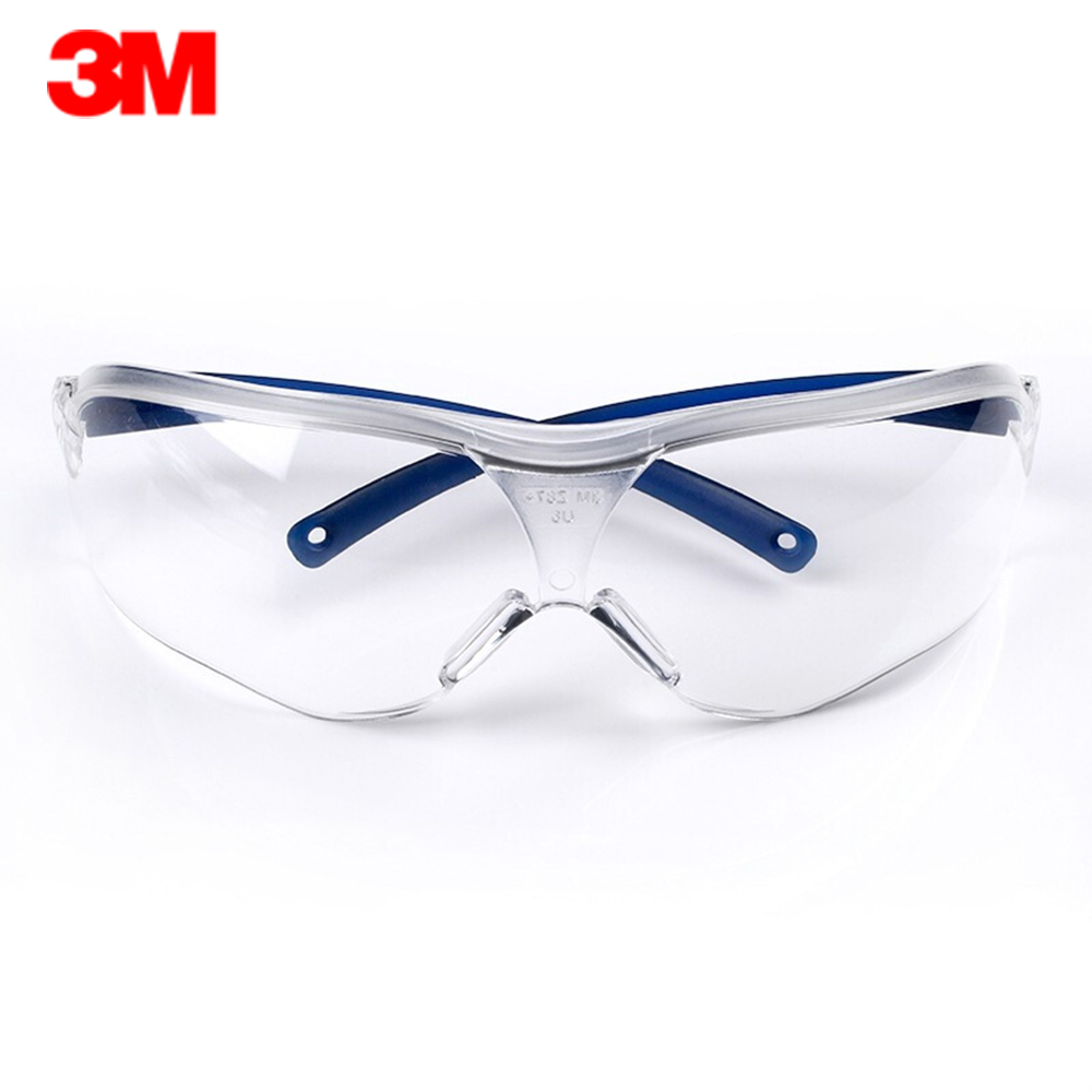 3M 10434 Protective Safety Glasses Goggles Impact Resistance Lens Eyewear Anti-fog Scratch Resistance UV Protection Goggles(China)