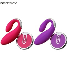 Zerosky G spot Wireless Vibrator Massage Sex Toys for Women,8 Modes Massager vibrator Anal Butt Plug AV Adult Game