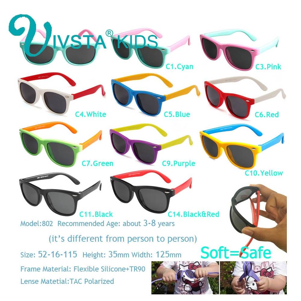 IVSTA Polarisierte Kinder Sonnenbrille Jungen Brille Kinder - Bekleidungszubehör - Foto 2