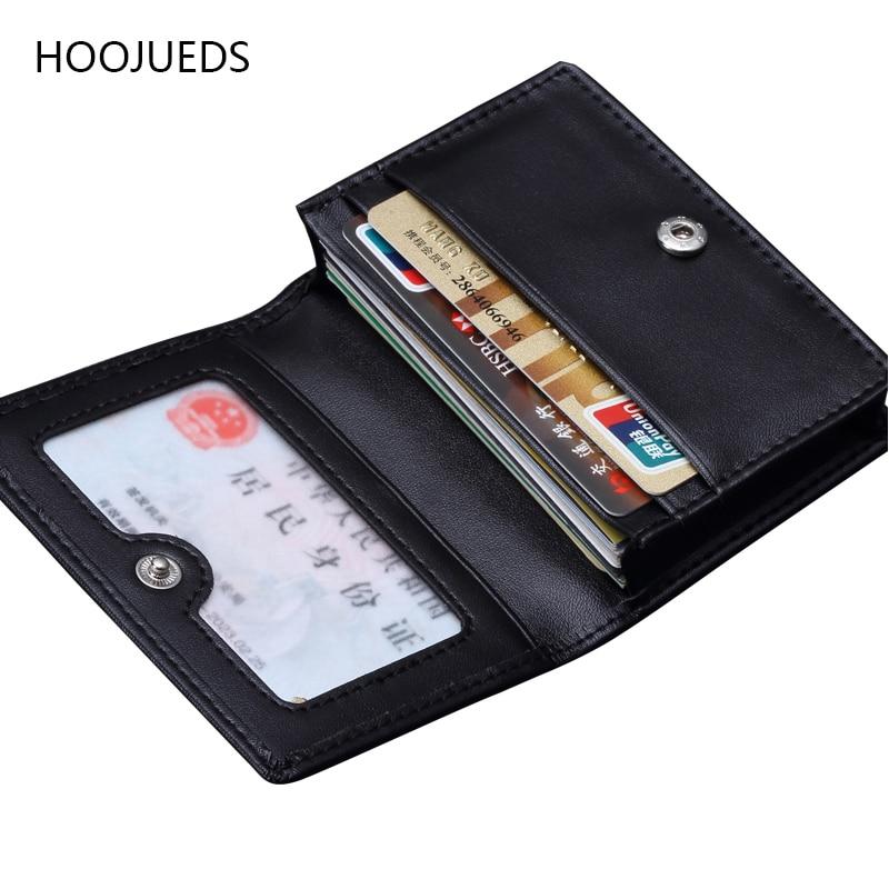 Credit Card Holder ID Card Holder Business Leather Card Holder Place Card Holders HOOJUEDS