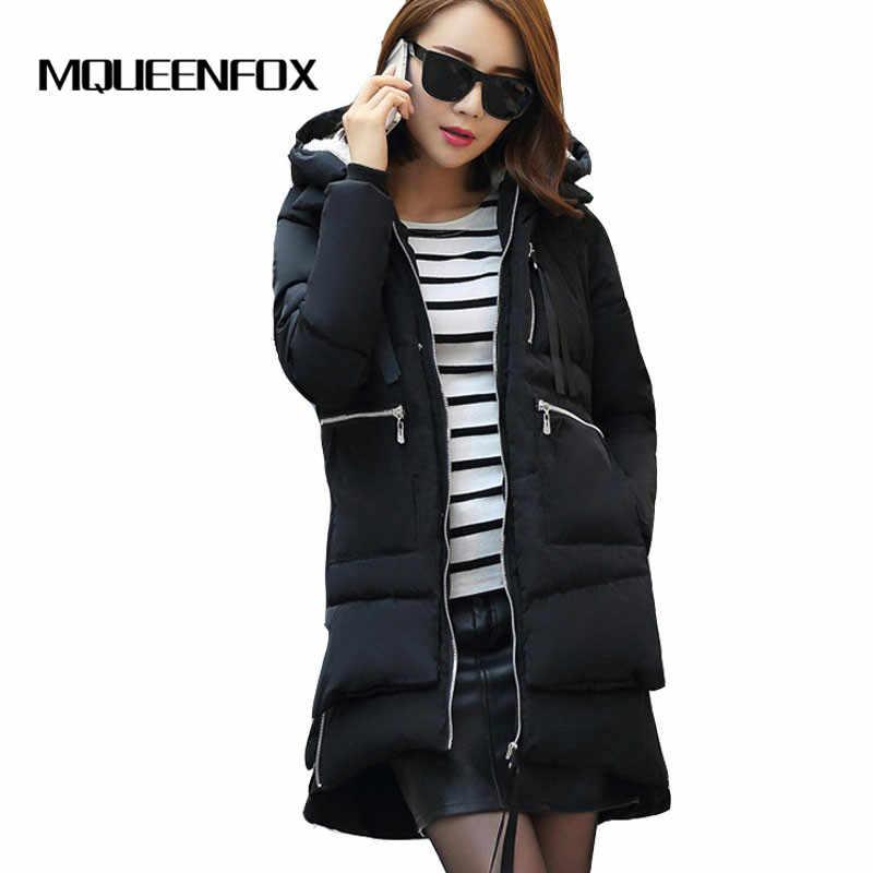 女性の冬のジャケット 2019 新しい綿ジャケットパーカージャケットファッション女性の女性のコートプラスサイズ M-5XL