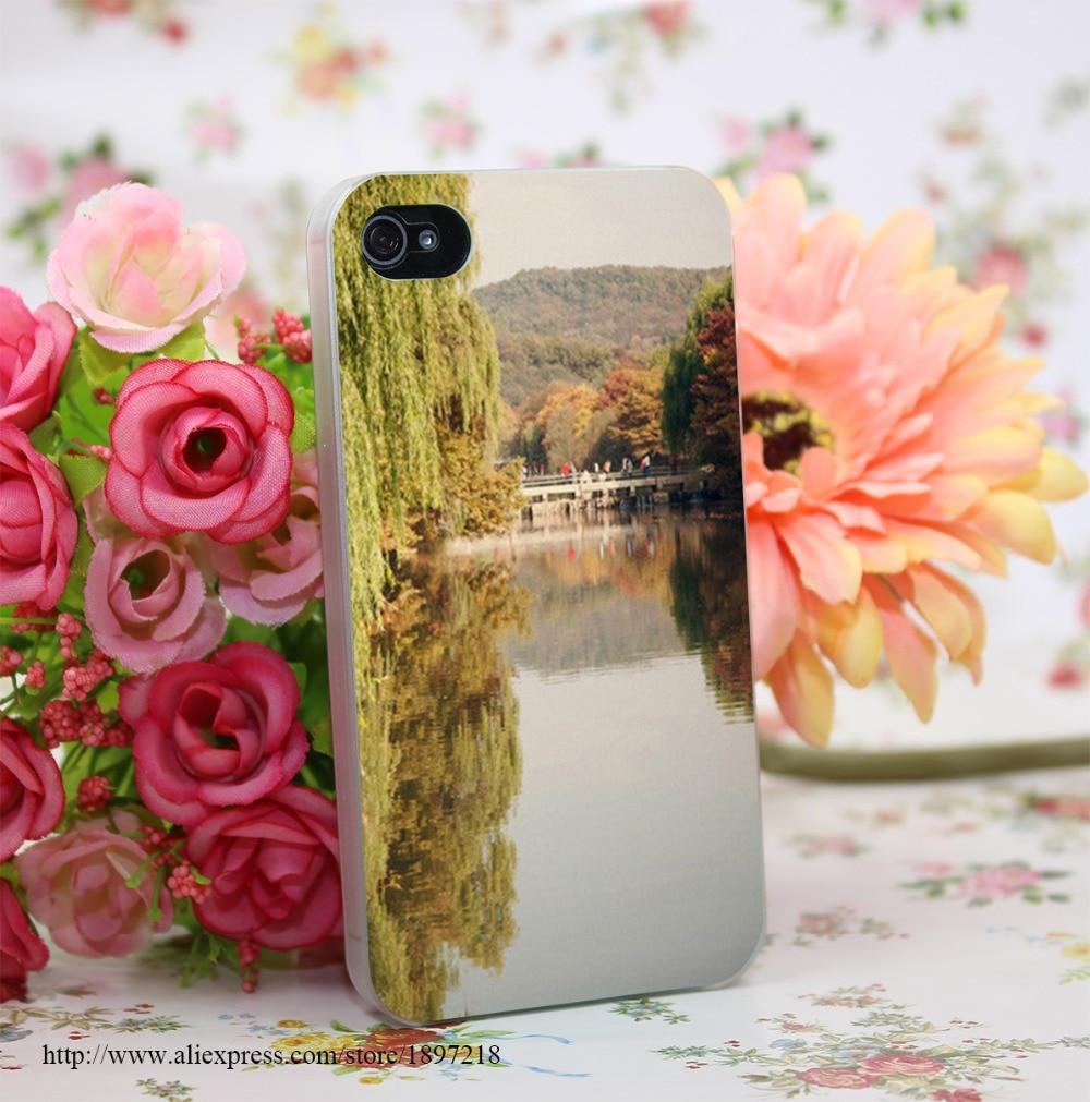 142285Y Autumn In Asia 1 Hard Transparent Cover Case for iphone 4 4s 5 5s 6 6s Plus 7 7 Plus