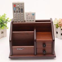 Мода деревянный ящик для хранения стол организатор офисный стол хранения boxmake up организатор для украшения дома organizador SNH008
