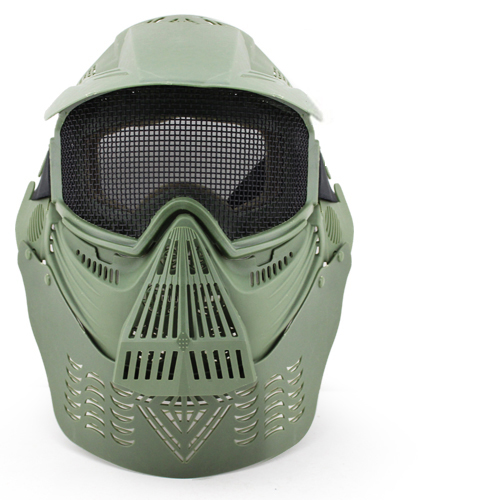 3colors Outdoor Mesh Wargame Mask Tactical Full Face Airsoft Paintball CS Equipment Halloween Cosplay Horror Gost Hunting Masks