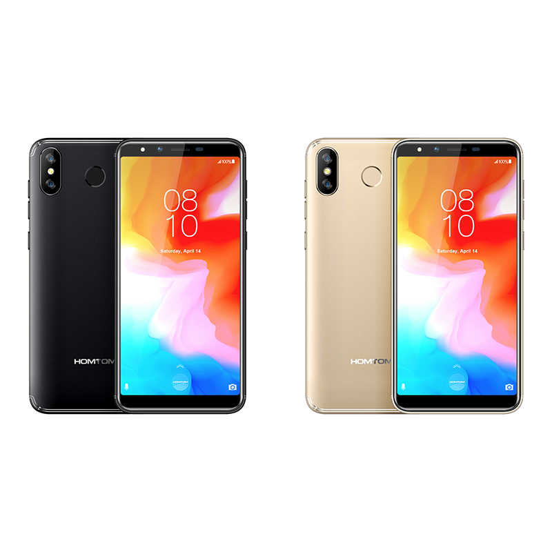 """HOMTOM H5 3 GB 32 GB Điện Thoại Di Động 3300 mAh Sạc Nhanh Android8.1 5.7 """"Mặt ID 13MP Camera MT6739 quad Core 4G FDD-LTE Điện Thoại Thông Minh"""