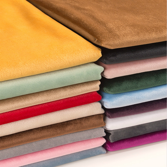 Золотой шелковистый бархат фланелевый короткий плюш ткань шитье DIY для занавески подушки диван стол крышка одежда декоративная 150*50 см