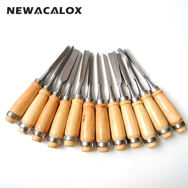 12pc Woodcut Knife Scorper Wood Carving Tools Cutter Graver Engraving Nicking Scalpel DIY Tool Scribing Woodworking Hobby Knifes