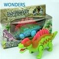 Динозавр игрушка детская любимый звучание проблесковый симпатичный мультфильм Spinosaurus электронные пластиковые детские игрушки детям в коробке