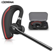 SOOPN Wireless  Bluetooth earphone Hands-free Headset Business / Car Office Noise-canceling headhpone