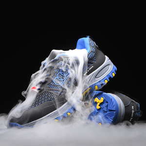 Image 3 - Men and women Safety Shoes Breathable Insulating shoes Anti smashing Anti piercing Safety Boots Anti skid Work Shoes