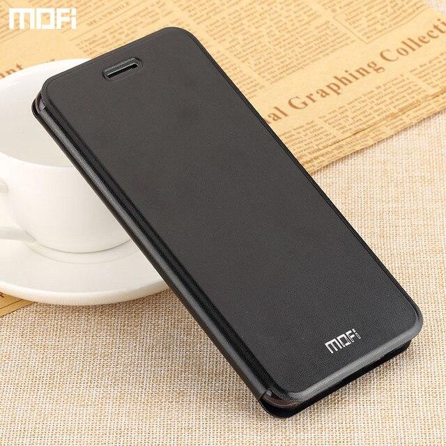 promo code bf937 bbb3b For xiaomi redmi note 5 pro case Mofi flip case cover redmi note5 pro stand  cover case accessories capa coque fund
