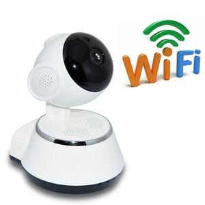 Image 2 - P2P V380 HD 720P Mini Câmera IP Sem Fio Wi fi Câmera de Vigilância de Segurança Visão Nocturna do IR Detecção de Movimento Monitor Do Bebê alarme