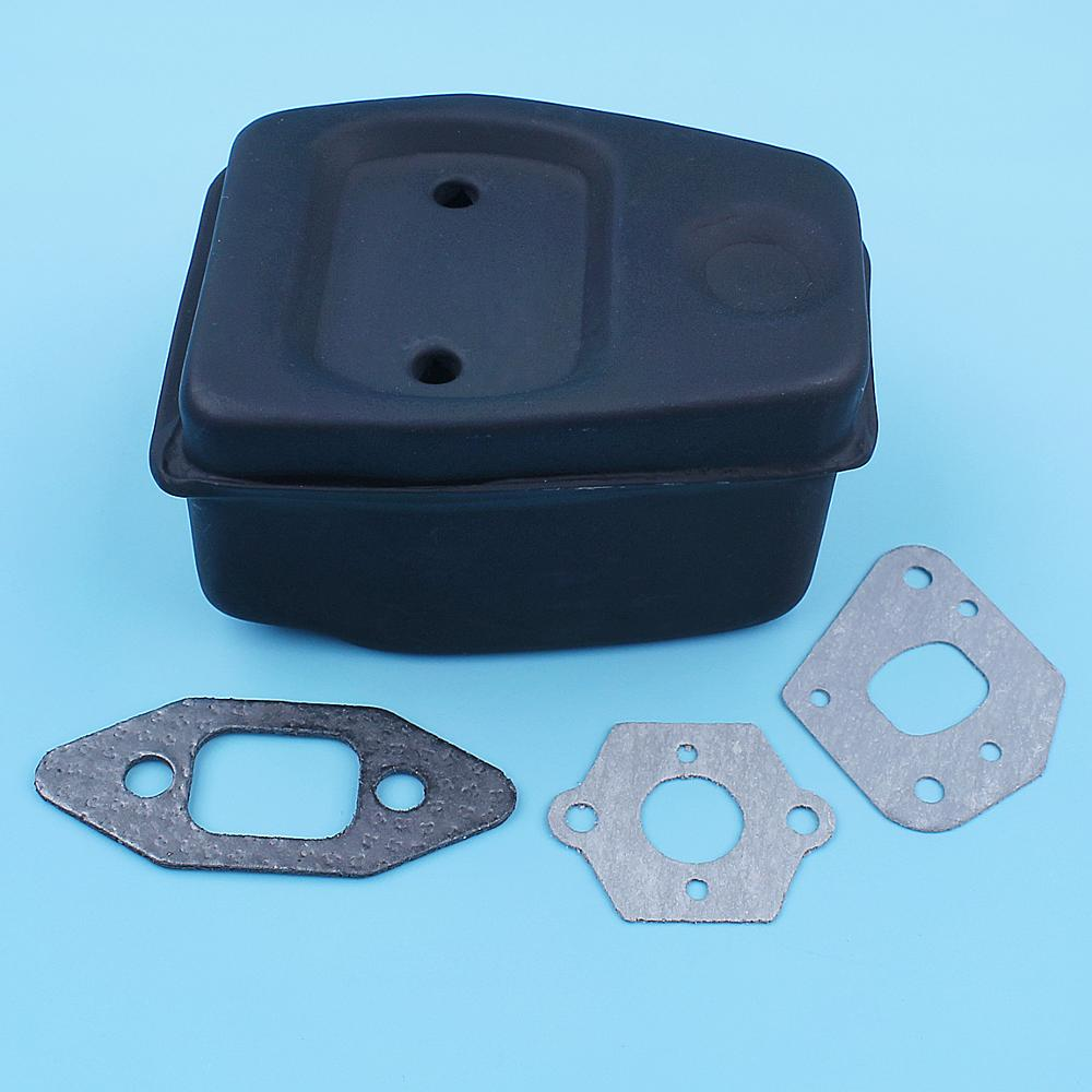 Muffler Exhaust Gaskets Kit For Poulan 2150 2055 2075 260 262 2175 2155 1975 Partner 350 351 Chainsaw Replacement Spare Parts