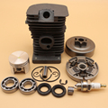 """38mm Cylinder Piston Bearing Oil Seal Clutch Drum 3/8"""" 6T Set For STIHL 018 MS180 MS 180 Chainsaw 1130 020 1208"""