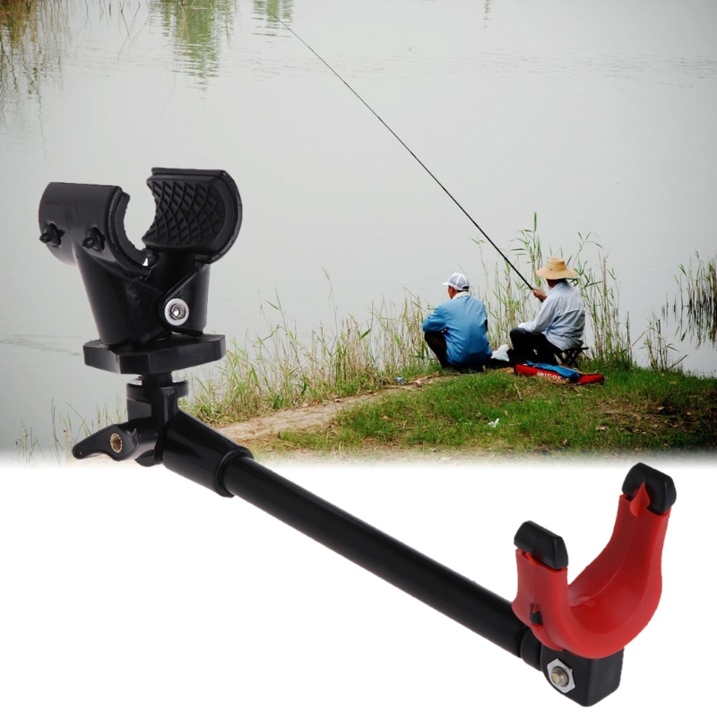 Fishing Rod Holder Extend Stretched Pole Stand Carbon Fiber Telescopic Brackets
