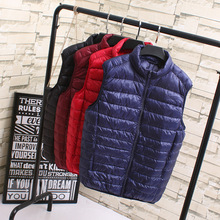2016 New Women's Vest Down Jacket Light Down Vest Female Vest Large Size Women Coat